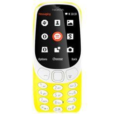 """3310 Giallo Dual Sim Display 2.4"""" +Slot MicroSD con 3G + Bluetooth RadioFM e Fotocamera 2Mpx - Italia"""