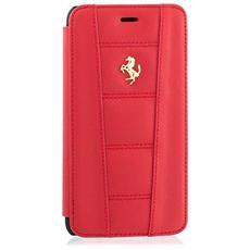 FE458GFLBKP6LRE Custodia a libro Rosso custodia per cellulare