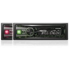 CDE-192R Sinto lettore CD / MP3 / USB Rosso / verde iphone-ipod 2 Preout