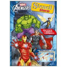 Avengers. Stencil storie