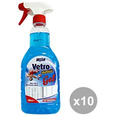 Set 10 Vetri Gel Multiuso Trigger 1 Lt. Detergenti Casa