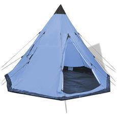 Tenda Per 4 Persone Blu
