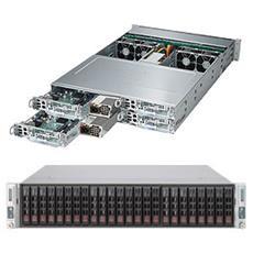 SuperServer 2028TP-HTFR, Intel C612, Socket R (LGA 2011) , Intel Xeon E5 v3, Xeon, E5-2600, DDR4-SDRAM