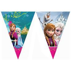 Festone Bandierine Anna Ed Elsa Frozen Taglia Unica