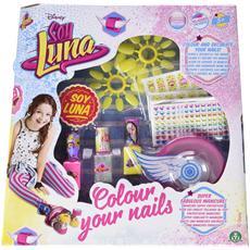 Soy luna - Set unghie Nail Color con Smalti ed Accessori
