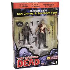 Figura The Walking Dead Action Figure 2 Pack Abraham Ford E Carl Grimes Previews Exclusive 15 Cm Mcfarlane Toys