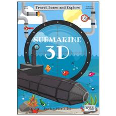 3D submarine. Travel, learn and explore