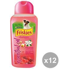 Set 12 Shampoo Pelo Corto 250 Ml. Articoli Per Animali