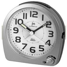 Quarzo, Snooze, Movimento Continuo, 90 X 40 X 90 Mm, Argento - Ja-7034s