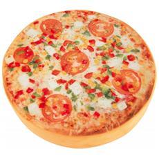 Cuscino Morbido In Tessuto A Forma Di Pizza