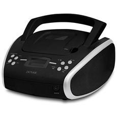 TC-24, Digitale, FM, PLL, Lettore, CD-R, CD-RW, CA / Batteria, LCD