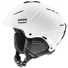 p1us 2.0 Sci, Snowboard / Sci Nero, Bianco casco protettivo