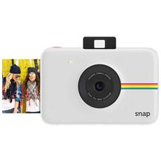 POLAROID - Snap Bianco Fotocamera Digitale a Sviluppo Instantaneo Stampa ZINK Sensore 10Mpx