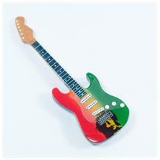 Magnete forma chitarra - Bob Marley - Tribute
