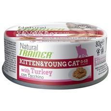 Cibo per gatti Kitten & Young Patè con Tacchino 80 g