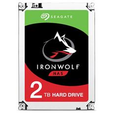 "Hard Disk IronWolf per NAS 2 TB 3,5"" Interfaccia Sata III 6 Gb / s 5900 rpm Buffer 64 MB"