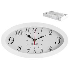 Orologio Parete Ovale 33x17 Arredo Casa