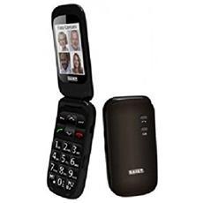 """Scudo+ Senior Phone Display 2.4 """" Tasti Grandi e SOS Fotocamera Colore Titanio - Italia"""