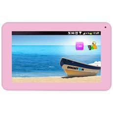 "Tablet BTPC-700 Rosa 7"" Dual Core Memoria 4 GB +Slot MicroSD Wi-Fi Fotocamera 2Mpx Android -"