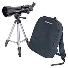 Cannocchiale Celestron Travelscope 70, rifrattore, diametro 70mm, lunghezza focale 400mm, f / 5.71, trepiedi, zaino