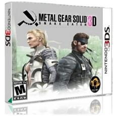 N3DS - Metal Gear Solid 3D Snake Eater