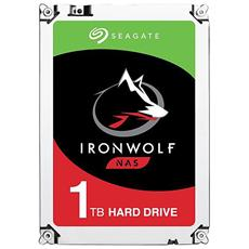 "Hard Disk IronWolf per NAS 1 TB 3,5"" Interfaccia Sata III 6 Gb / s 5900 rpm Buffer 64 MB"