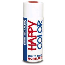 Happy Color Smalto Spray Vernice Acrilico Giallo Segnale Ral 1003