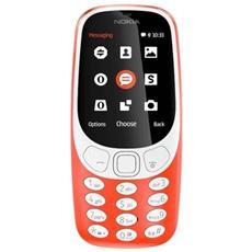 """3310 Rosso Display 2.4"""" +Slot MicroSD con 3G + Bluetooth RadioFM e Fotocamera 2Mpx - Italia"""