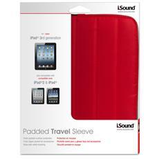 "i. Sound ISOUND-4728, Sleeve, Rosso, 24,64 cm (9.7"")"