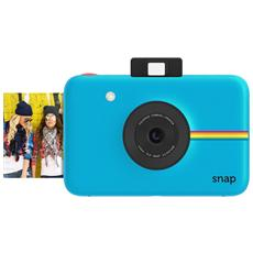 Snap Blu Fotocamera Digitale a Sviluppo Instantaneo Stampa ZINK Sensore 10Mpx