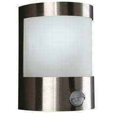 Lanterna Da Parete Vilnius Acciaio Inox 1 X 60 W 230 V