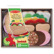 Set Sandwich di Feltro