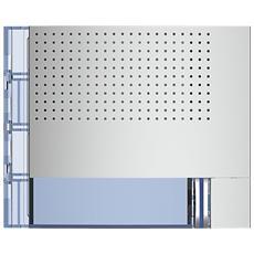 Frontale Fonico Base Con 1 Pulsante Di Chiamata Sfera New Finitura Allmetal