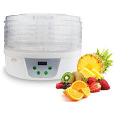 Essiccatore Di Frutta E Verdure Fd1078 Con Vassoi Rotanti 360°