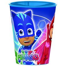Bicchiere Pvc Pjmasks Superpigiamini 260 Ml Pj Masks Ps 06326