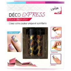 unghie deco express 'coloriage' leopardo - [ l9154]