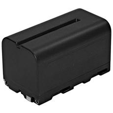 Gbt013 batteria 7,4v 4400mah Tipo Npf770, per Videocamera, Nero