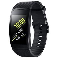 "Sportwatch Gear Fit2 Pro Impermeabile 5ATM Display 1.5"" 4GB Bluetooth WiFi e GPS Taglia S Nero - Europa"