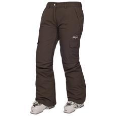 Fargo Pantaloni Da Sci Impermeabili Donna (xxl) (cioccolato)