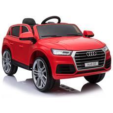 Macchinina Elettrica Telecomandata Per Bambini Modello Audi Q5, Rosso