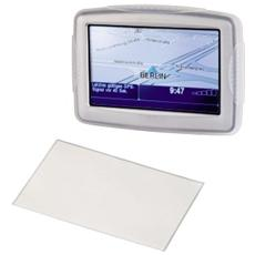 """""""Silicon Case"""" for TomTom One XL (V2) Navigation System Silicone Trasparente"""