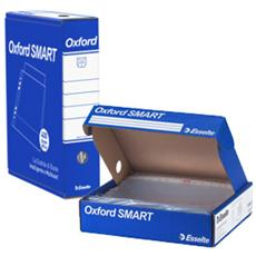 scatola 4x100 buste forate 22x30 b. a. office oxford smart esselte