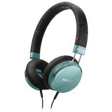 Cuffia On Ear Citiscape Fixie SHL5300TL ad Archetto Colore Azzurro