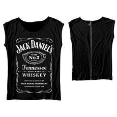 Jack Daniel's - Back Zipper (T-Shirt Donna Tg. L)