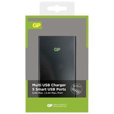 GP multi charger 5-fold USB U551 nero