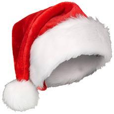 Cappello Rosso E Bianco Babbo Natale Taglia Unica