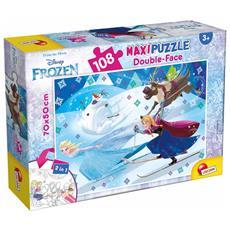 Frozen - Puzzle Double-Face Supermaxi 108 Pz