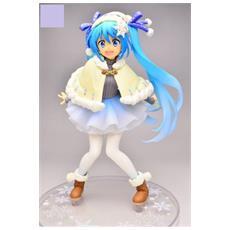 Hatsune Miku Original Winter Dress Figure (Plastica 16 Cm)