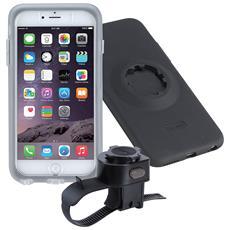Pack Bici Iphone 6 / 6s Cover + Supporto Fissaggio Fitclic Tigra Sport