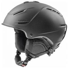 p1us 2.0 Sci, Snowboard / Sci Nero casco protettivo